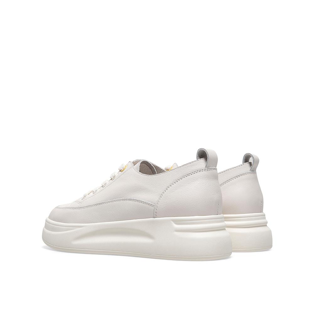 AY491CM0 秋新款商场同款 2020 天美意厚底日系小白鞋女松糕底休闲鞋