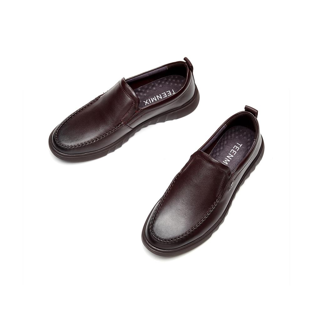 BSV11CM9 2019  天美意 秋商场同款一脚蹬休闲乐福皮鞋