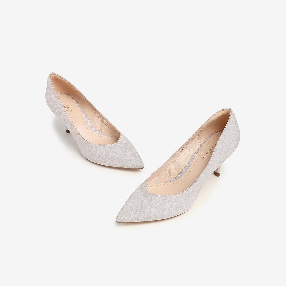 FY3D8AQ1 春专柜同款尖头婚鞋高跟鞋浅口女单鞋伴娘鞋 2021 他她 Tata