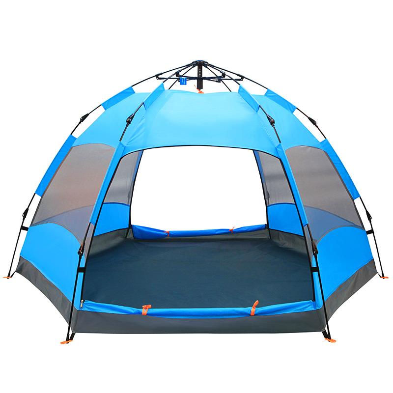 人防暴雨加厚野营露营野外沙滩全自动速开防雨 8 3 探险者帐篷户外