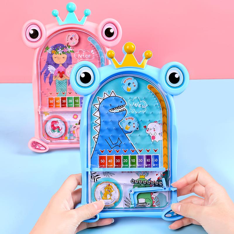 儿童弹射弹珠机益智类玩具亲子互动对战弹珠台桌游网红怀旧小游戏