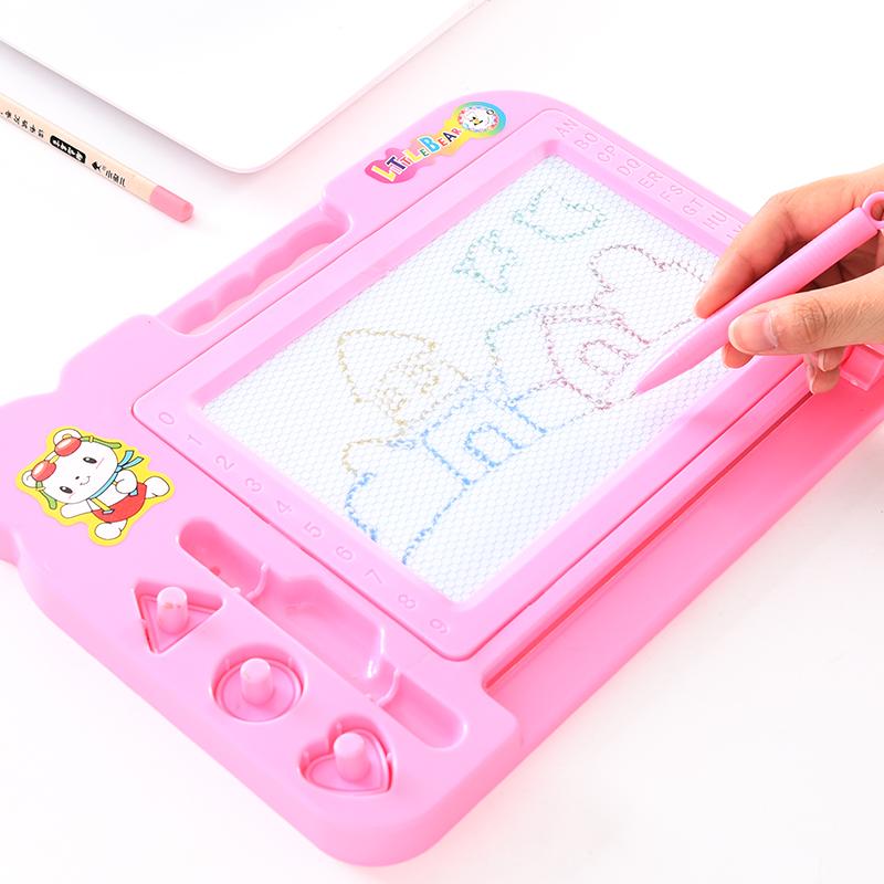 儿童磁性画板创意宝宝幼儿园绘画早教玩具彩色涂鸦板画画板写字板