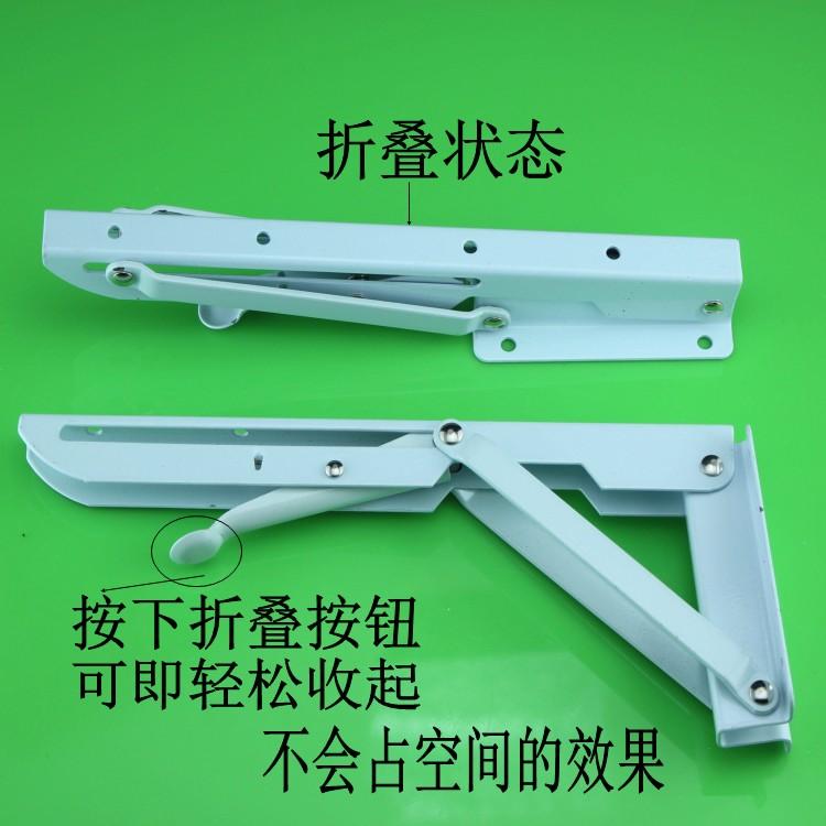 加厚墙壁折叠桌置物架墙上笔记本支撑架三角架桌墙面折叠承重托架