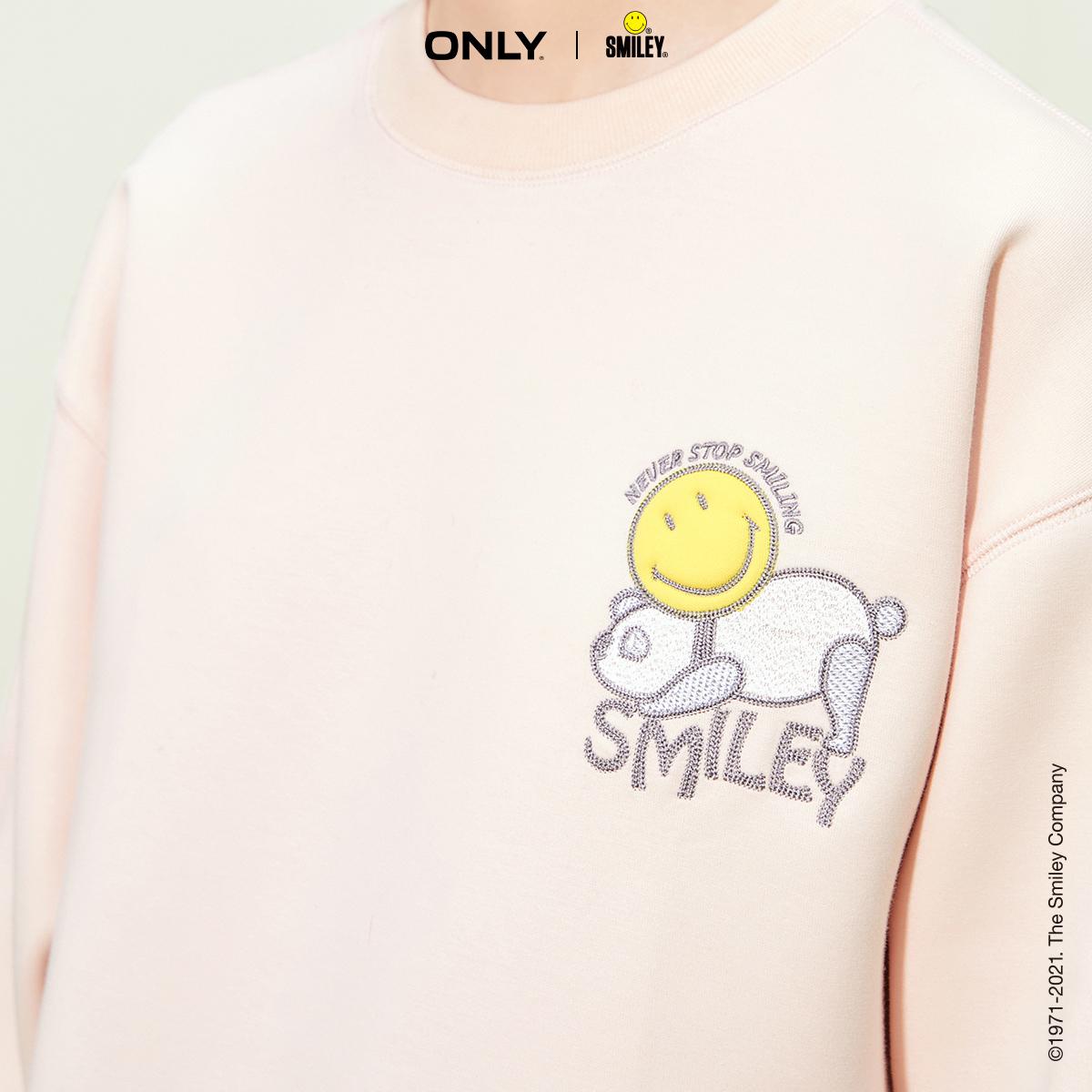 【双11预售】ONLY2021冬季新款Smiley笑脸联名款卫衣女|12139S054