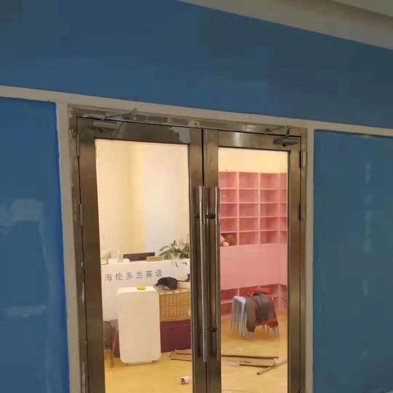 定制钢制防火门影院防火隔音门木质甲级乙级丙级不锈钢玻璃消防门