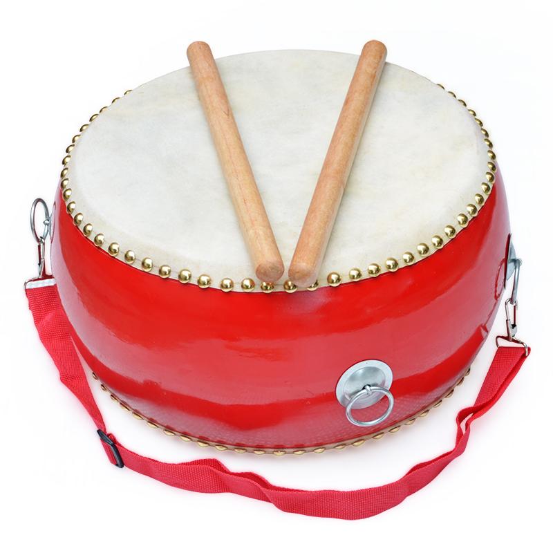 5 6 7 8 9 10寸牛皮鼓大鼓儿童鼓玩具鼓幼儿园小鼓敲打鼓打击乐器