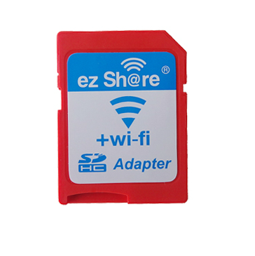 易享派WiFi适配器SD卡套单反相机for佳能可换8g16g32g内存套