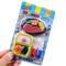 可爱卡通创意文具儿童橡皮擦 学生奖品食物造型橡皮玩具 可拆装