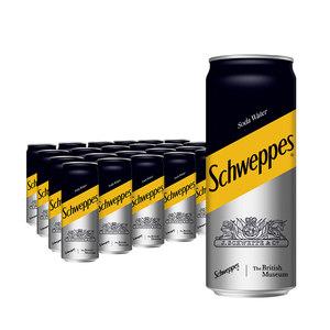 怡泉苏打水 330ml*24罐/箱 整箱装 可口可乐官方出品碳酸饮料