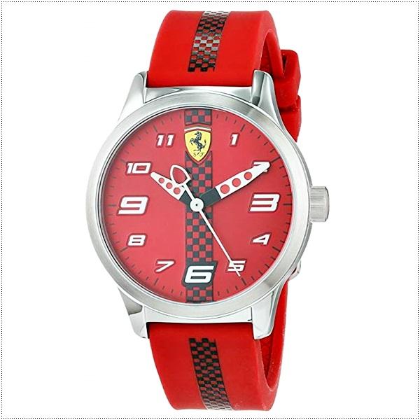 法拉利童表 美国代购 Ferrari 男孩女孩时尚正品石英运动腕表