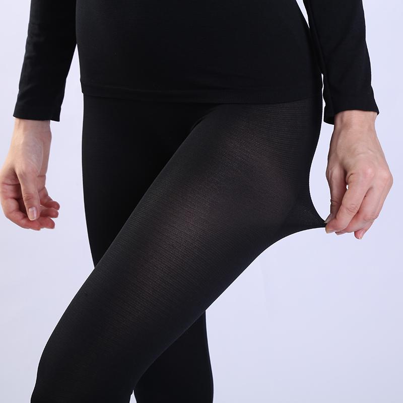 【买1送1】37度恒温超薄款保暖内衣女无痕发热紧身美体套装秋衣裤