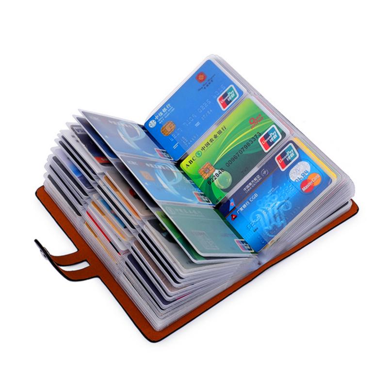 卡夹 多卡位名片包卡片包定制屏蔽  防盗刷防磁卡包男女式大容量 NFC