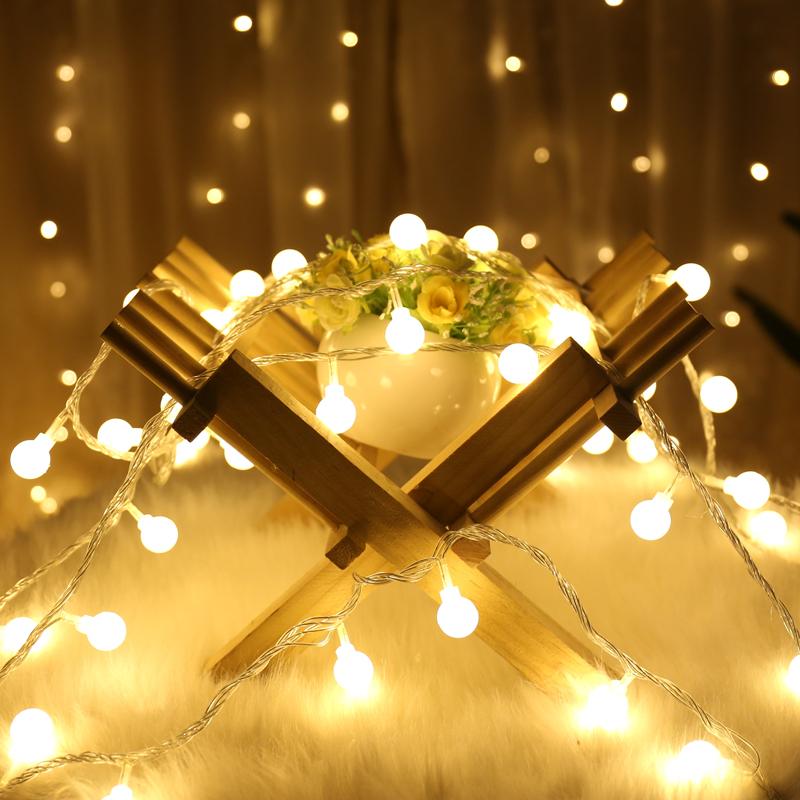 led星星灯串网红房间装饰ins风卧室浪漫小灯泡彩灯闪灯串灯满天星