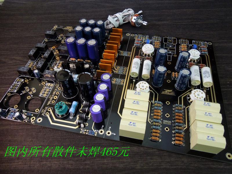動態&激情 美國ARC線路12au7ecc88電子管平衡膽前級板()
