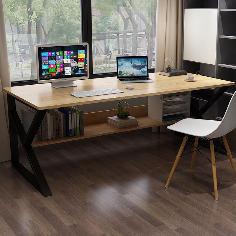 电脑台式桌卧室家用简约现代学生写字桌书桌台简易长方形办公桌