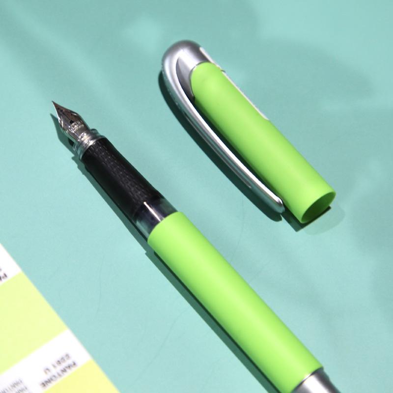 ONLINE/欧领德国进口钢笔小学生三年级专用男孩女孩钢笔 可替换墨囊吸墨器替换书法练字COLLEGE