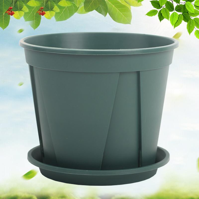 青山盆pp樹脂控根盆栽花卉塑料花盆大號多肉簡約圓形月季花盆