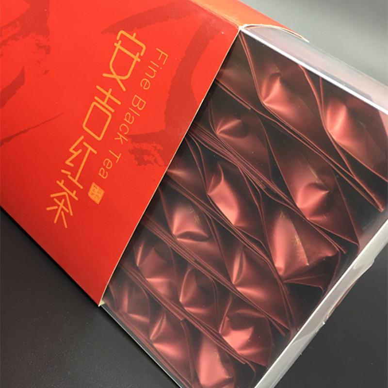 一级茶叶 2018 包茶叶礼盒 60 装 198g 茗正堂安吉红茶满堂红一级简装