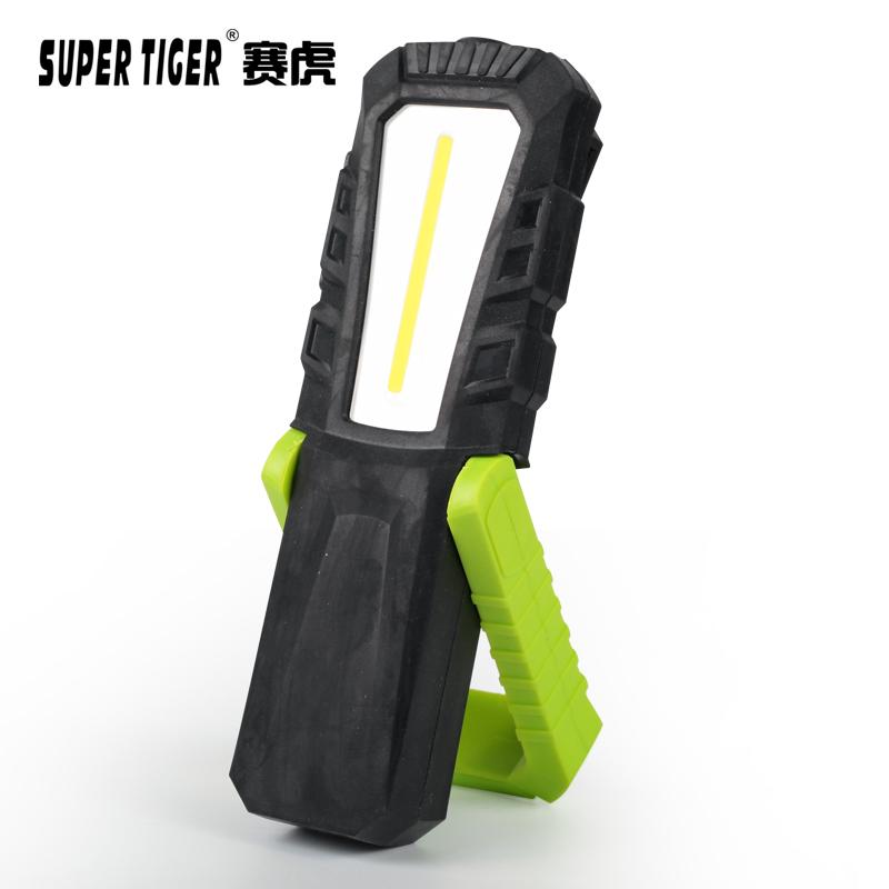 工作灯 COB 汽修灯补光充电式便携防摔强光手电筒 CRI95 赛虎高显色值