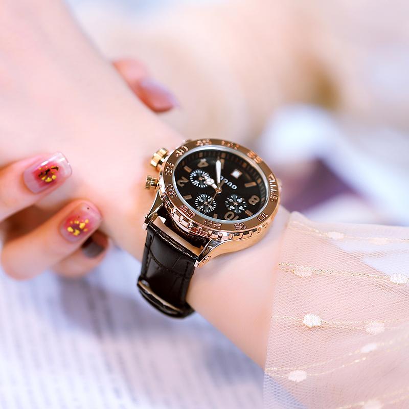 时尚潮流大表盘古风手表中国风森系女时装 古欧正品女土手表防水