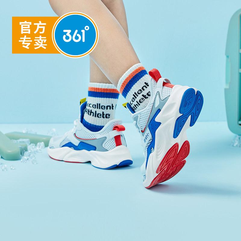 361童鞋 男童鞋子2020秋冬新款中大童男鞋透气百搭儿童时尚运动鞋