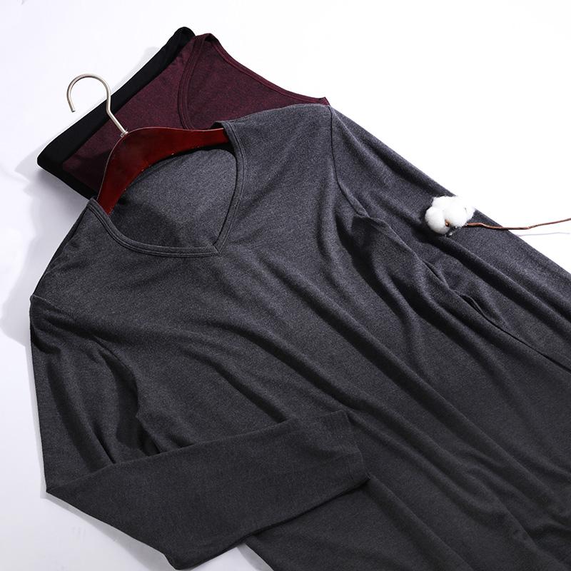 爱慕先生保暖内衣轻绒长袖上衣长裤套装秋衣秋裤NS74D021优惠券