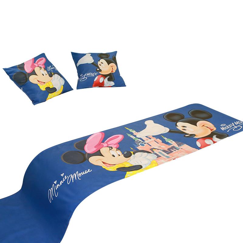 定制賓館星級酒店客棧民宿親子房床尾巾卡通動漫床旗床蓋床罩