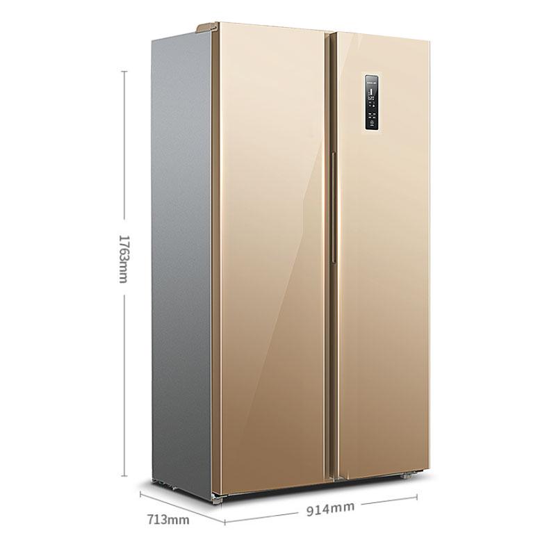 家用对开门变频无霜风冷一级萝效冰箱 556WPUCX BCD 美菱 MeiLing