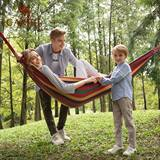 Camel outdoor hammock swing thickening net red indoor home dormitory bedroom artifact college student anti-rollover hanging chair