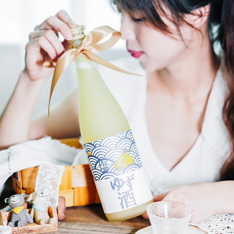 伊豆海盐 柚子果酒 日本原装进口北岛盐柚子酒