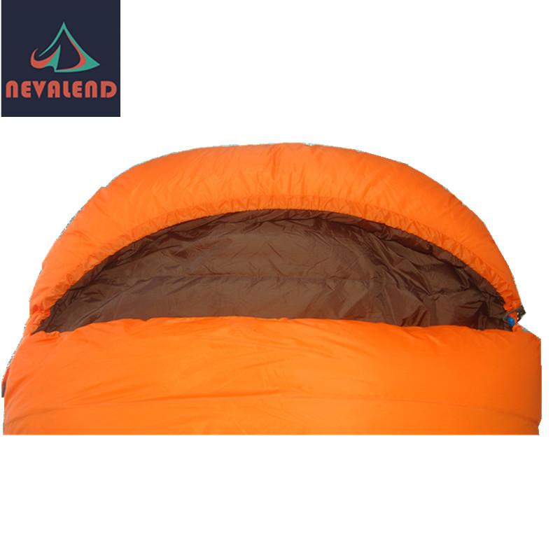 纳瓦兰德 加大型羽绒信奉睡袋 90 230 加宽 加长 直销