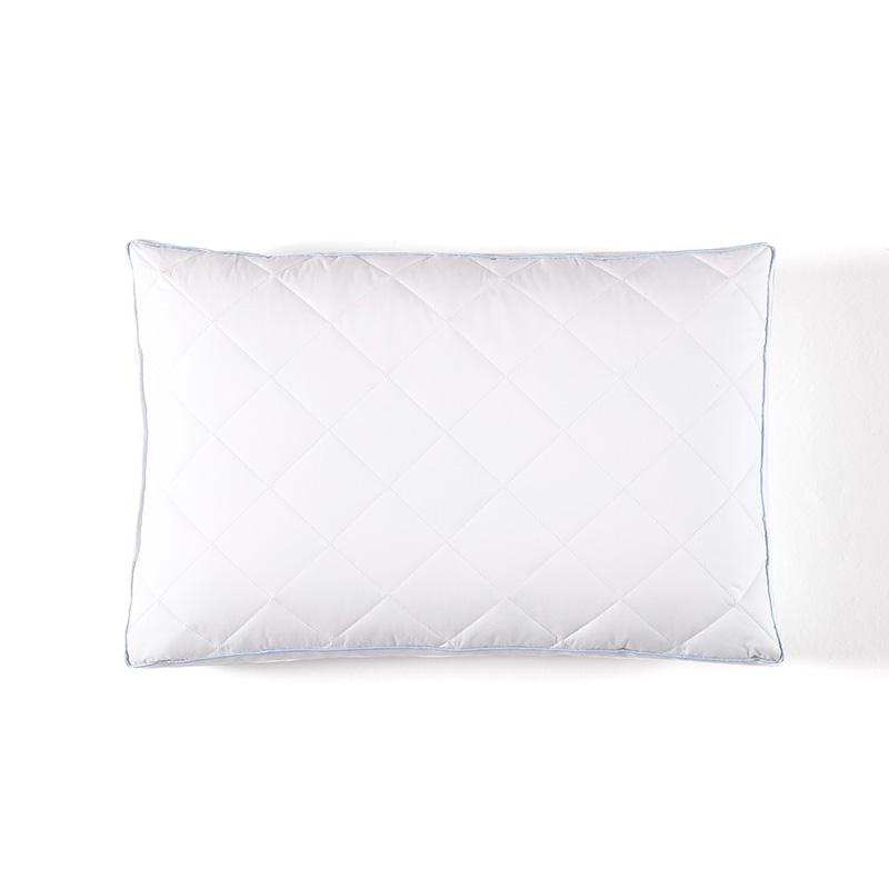 兒童抗菌防螨枕頭保健護頸枕頭芯單人枕芯 睡神青少年枕 Downland