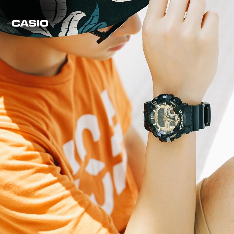 1A 710GB GA 黑金防水户外多功能运动表 手表男 SHOCK G 卡西欧 Casio