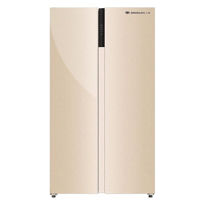 上菱冰箱十字对开双门风冷无霜一级变频静音节能特价 年保修 10