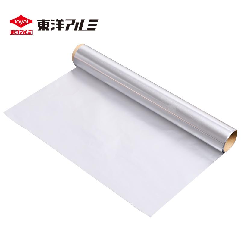 Toyal东洋铝爱科日本防油锡纸使用花甲专用纸烧烤烤箱用具耐高温