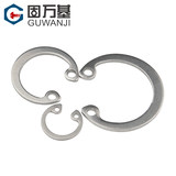304 stainless steel shaft hole Neika Ka circlip spring circlip C type snap ring hole GB GB893