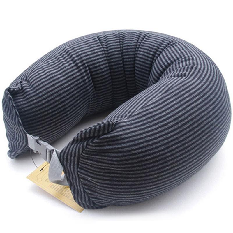 枕颗粒 U 形旅行飞机枕午休趴睡枕 U 型护颈枕头脖子颈椎靠枕 U 多功能