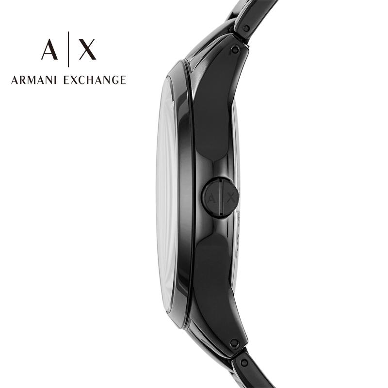 【预售】Armani阿玛尼手表男正品黑武士休闲石英腕表礼盒装AX7101