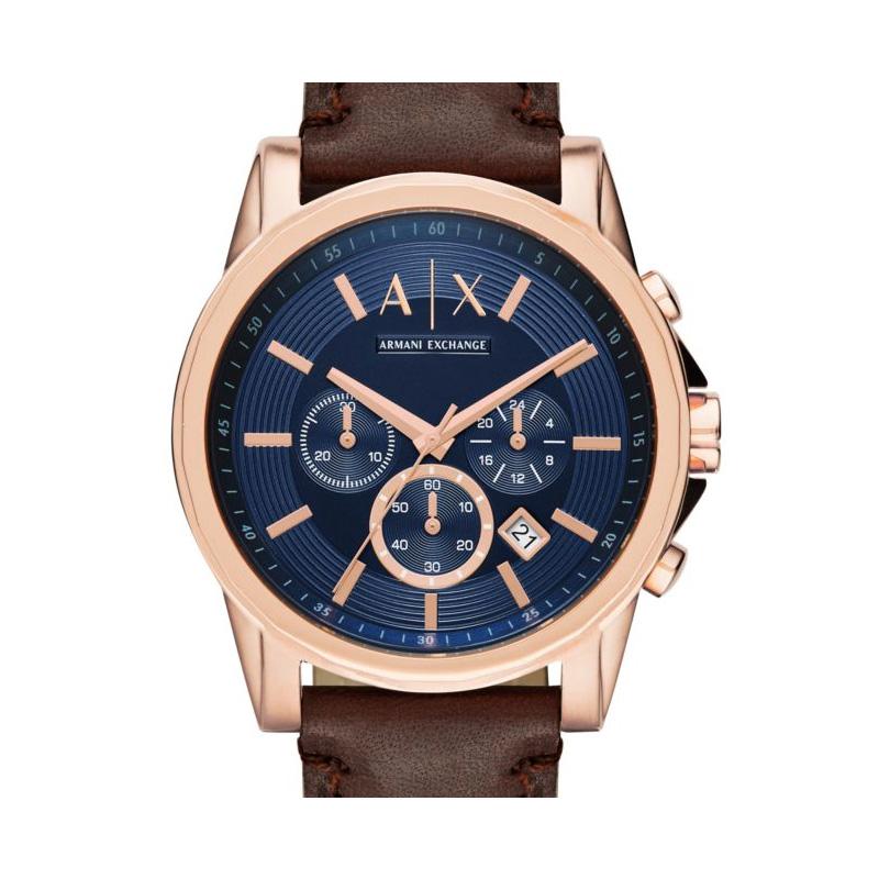 Armani阿玛尼手表男士官方旗舰店正品学生石英防水腕表礼物AX2508