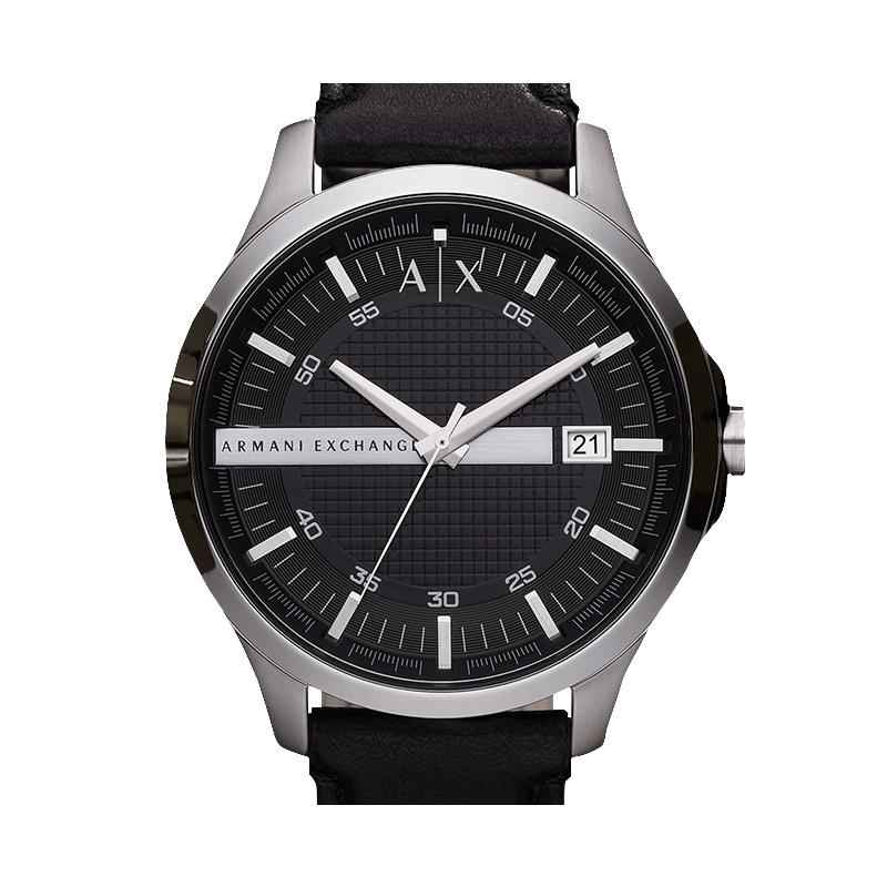 阿玛尼手表男Armani Exchange 大表盘运动防水石英手表男AX2101