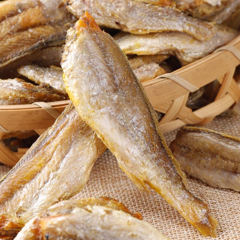 香酥小黄鱼干零食即食大包散装酥脆黄鱼酥海味休闲网红零食小鱼仔 No.2