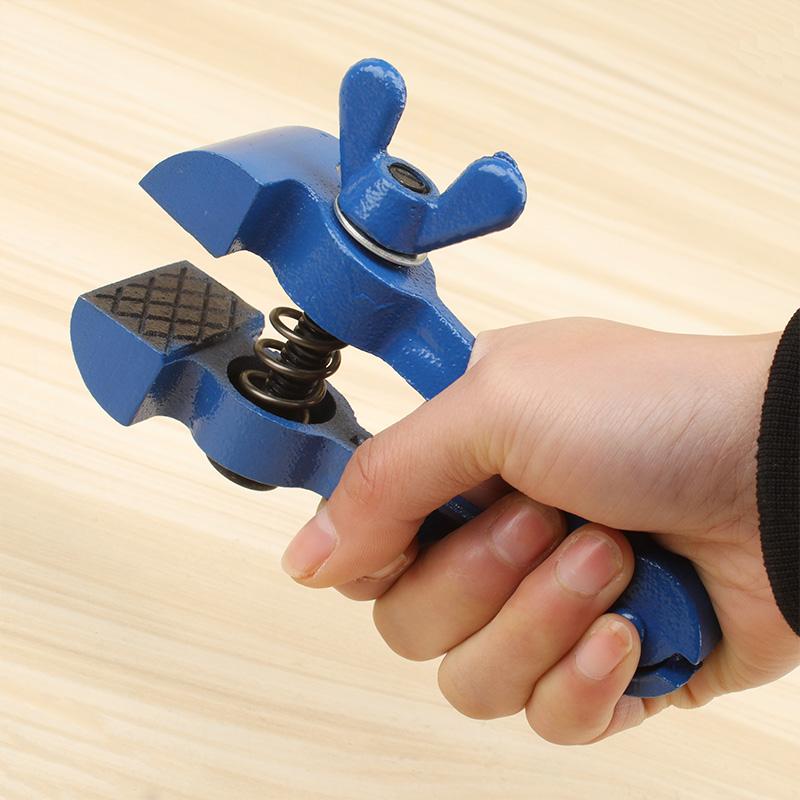 迷你手虎钳多功能钳子包邮小型重型手拿钳固定钳40mm50mm精密虎钳