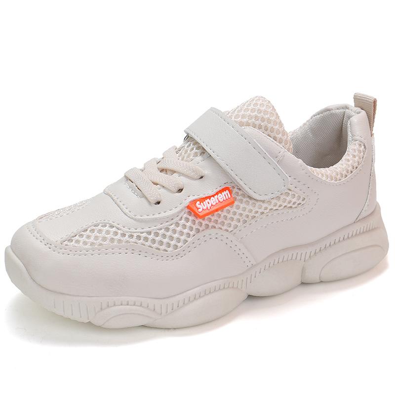 春季新款男童小白鞋 2020 女童小熊童鞋运动鞋百搭儿童网红老爹鞋