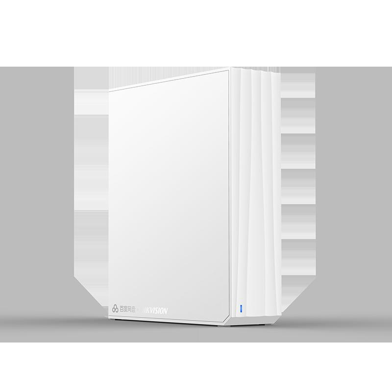 云存储硬盘 单盘位网络存储服务器 NAS 家用个人私有掌盘 百度云网盘 2T H101 闲小盘 海康威视