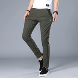 Men's casual pants loose thin Korean version of spring and summer trend long pants male wild 2020 new silk ice sports