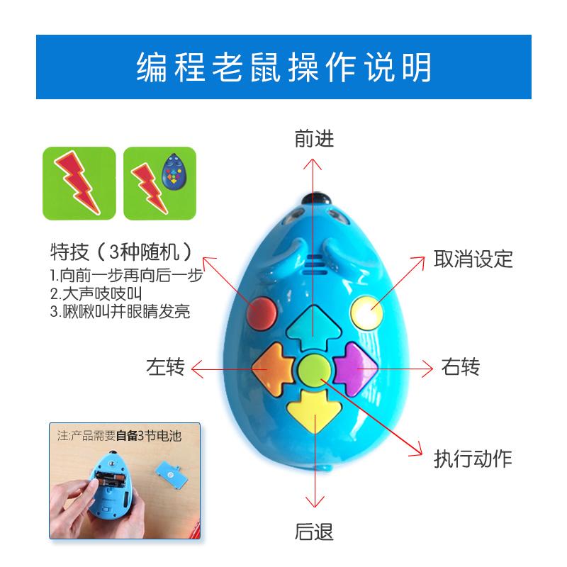 Learning Resources Stem Robot Mouse Coding  编程老鼠迷宫玩具