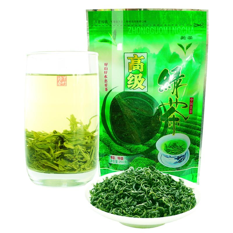茶叶绿茶2019新茶蒙顶山毛峰散装特级浓香型日照高山云雾绿茶250g