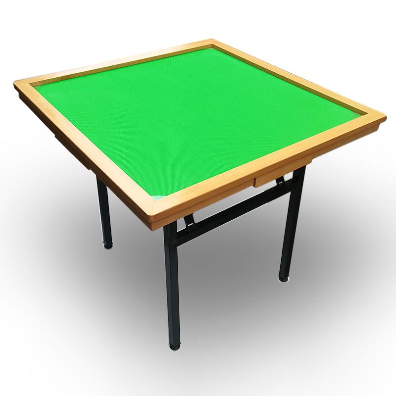 麻雀台麻将桌子折叠牌桌家用简易便携式麻将台手搓手动麻将桌中式