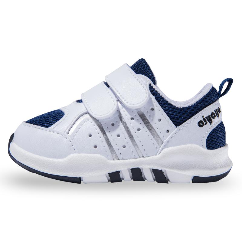 春秋季透气婴儿小白鞋软底学步鞋宝宝鞋女1-3岁2宝宝单鞋男童鞋子