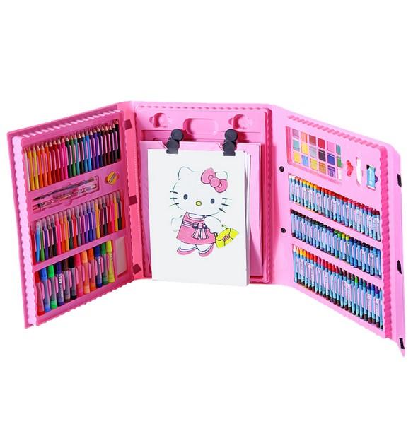 儿童画笔蜡笔水彩笔套装创意生日礼物画画绘画工具美术礼品无毒